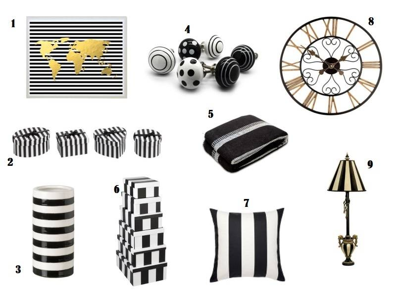 Ebay Wishlist Black And White Stripes