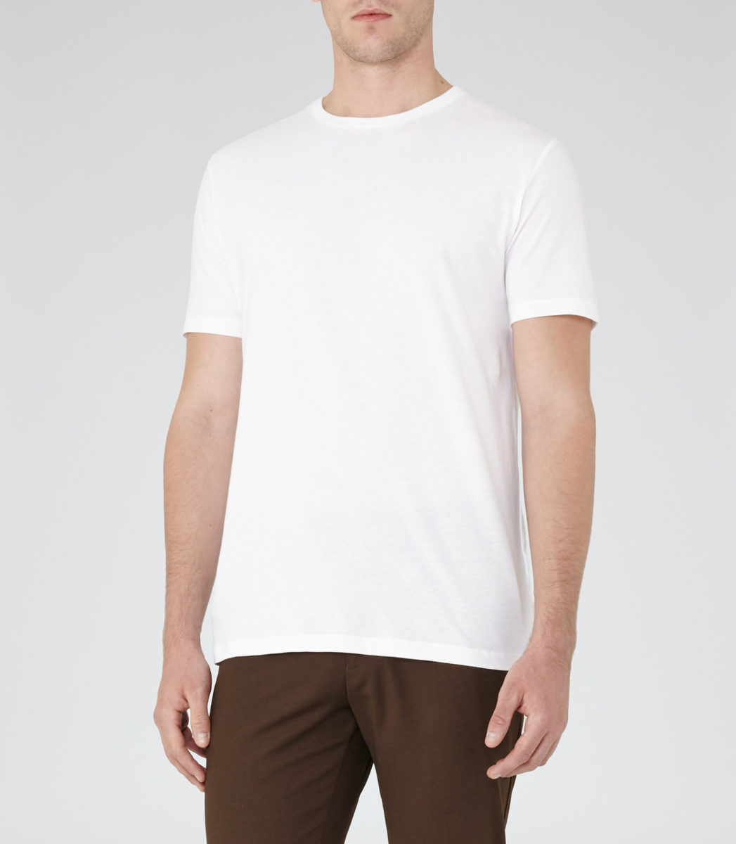 Reiss Bless Crew Neck T Shirt